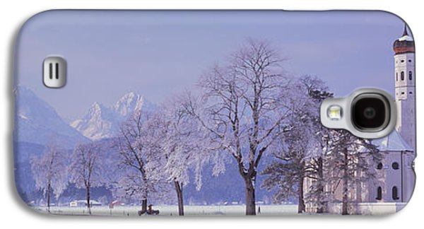 Winter St Coloman Church Schwangau Galaxy S4 Case by Panoramic Images