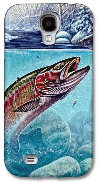 Winter Steelhead Galaxy S4 Case by Jon Q Wright