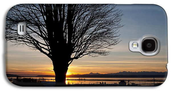 Winter Sunset Galaxy S4 Case by Erin Kohlenberg