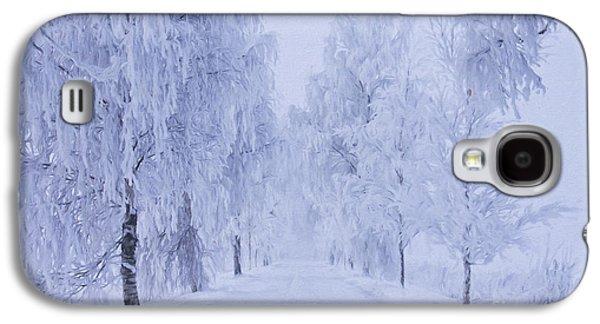 Winter Galaxy S4 Case by Veikko Suikkanen