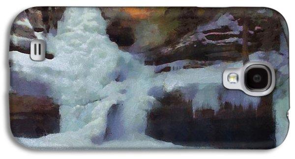 Winter Waterfalls Galaxy S4 Case