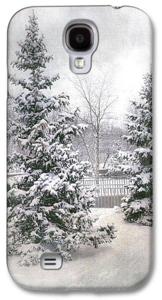 Winter White 2 Galaxy S4 Case by Julie Palencia