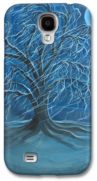 Winter Willow Galaxy S4 Case by Beckie J Neff