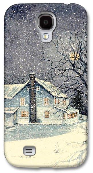 Winter's Silent Night Galaxy S4 Case