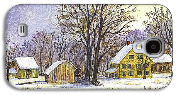Wintertime In The Country Galaxy S4 Case