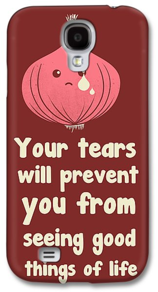Wipe Off Your Tears Galaxy S4 Case by Neelanjana  Bandyopadhyay
