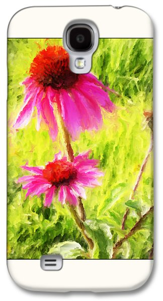 Wisconsin Cone Flowers Galaxy S4 Case by Kelly Gibson