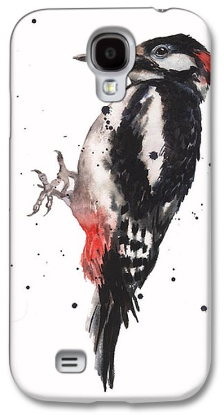 Wise Woody Galaxy S4 Case by Alison Fennell