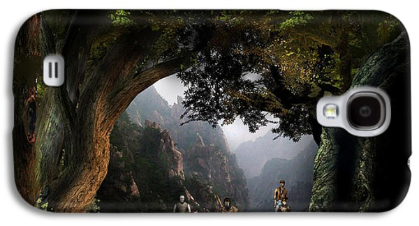 Witch Territory 12 Galaxy S4 Case by Vjkelly Artwork