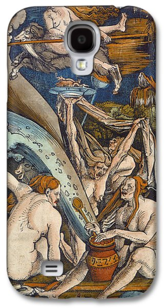 Witches Galaxy S4 Case by Hans Baldung Grien