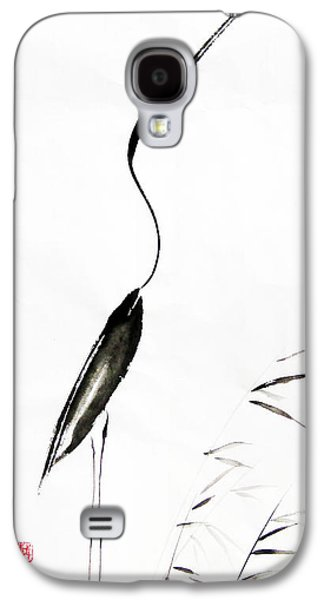 Egret Galaxy S4 Case - With My Head Held High by Oiyee At Oystudio