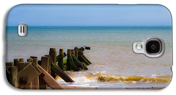 Withernsea Groynes Galaxy S4 Case