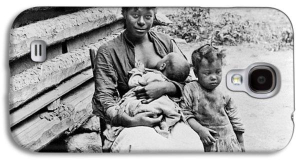 Woman Breast Feeding Her Baby Galaxy S4 Case