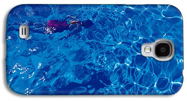 Woman In Swimming Pool Galaxy S4 Case by Panoramic Images