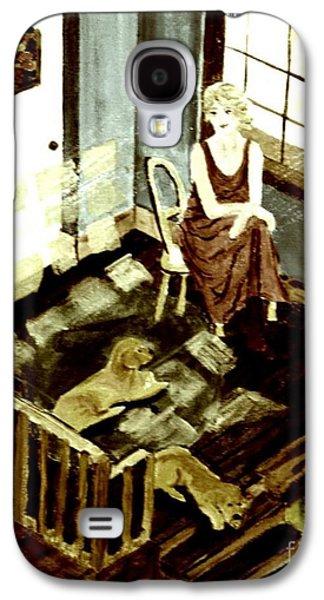 Woman In The Window Galaxy S4 Case
