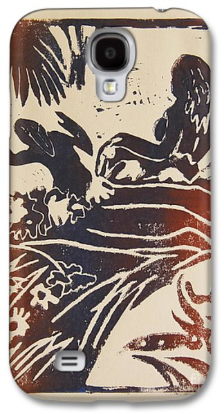 Women I A La Gauguin Galaxy S4 Case by Christiane Schulze Art And Photography