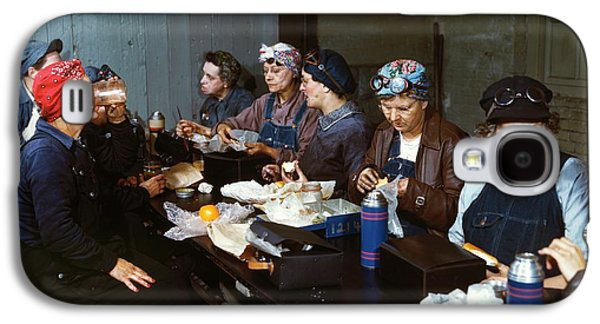 Women Railway Workers At Lunch Galaxy S4 Case