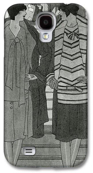 Women Wearing Chanel Galaxy S4 Case by Pierre Mourgue