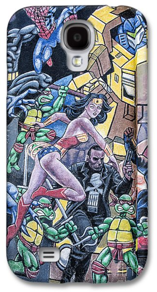 Wonder Woman Abstract Galaxy S4 Case