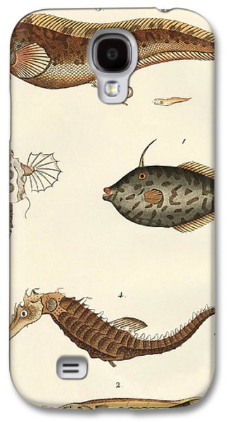 Wonderful Fish Galaxy S4 Case by German School