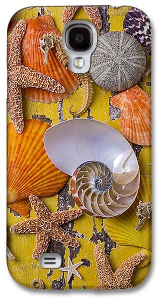 Wonderful Sea Life Galaxy S4 Case by Garry Gay