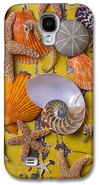 Wonderful Sea Life Galaxy S4 Case by Garry Gay