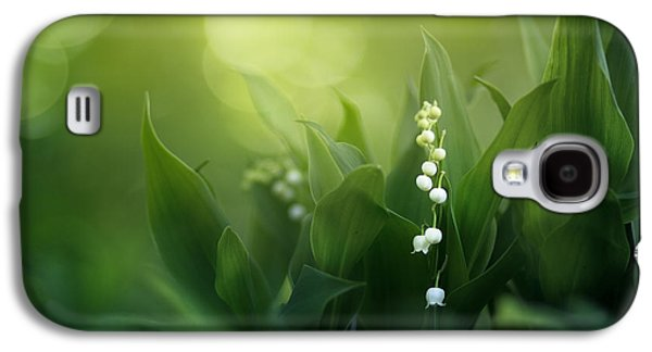 Lily Galaxy S4 Case - Wonders Of Spring Forest by Magda  Bognar