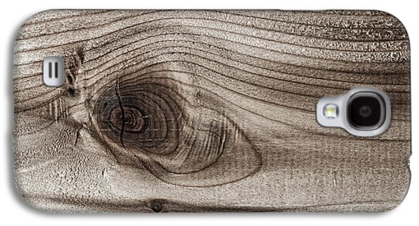 Wood Knot Abstract Galaxy S4 Case