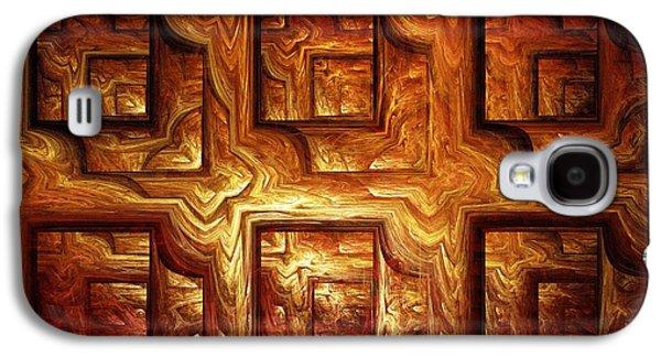 Wood Panel Galaxy S4 Case by Anastasiya Malakhova
