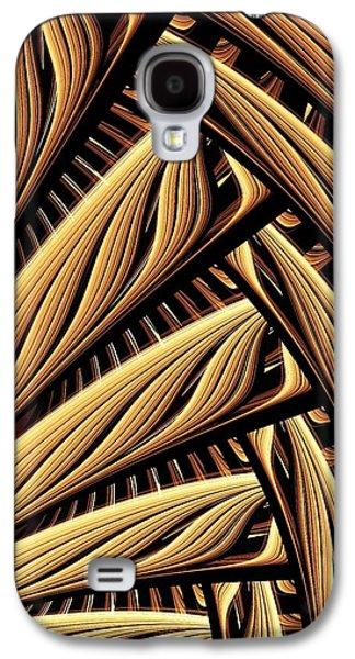 Wood Weaving Galaxy S4 Case by Anastasiya Malakhova