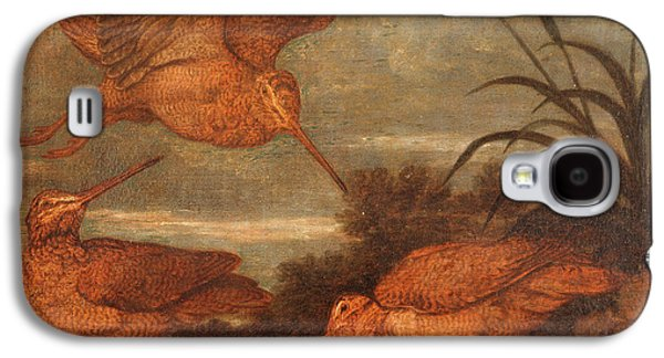 Woodcock Galaxy S4 Case - Woodcock At Dusk, Francis Barlow, 1626-1702 by Litz Collection
