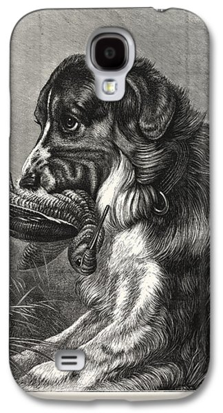 Woodcock-shooting, Hunt, Hunting, Dog Galaxy S4 Case by English School