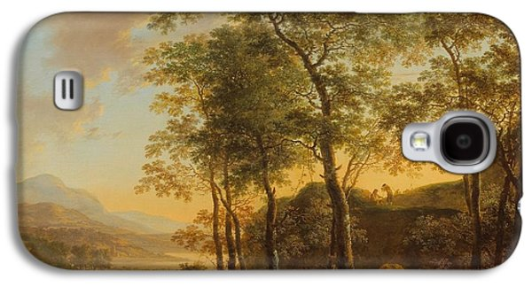 Wooded Hillside With A Vista Galaxy S4 Case by Jan Both