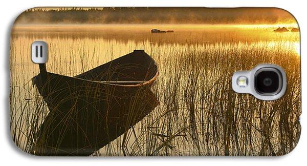 Wooden Boat Galaxy S4 Case by Veikko Suikkanen