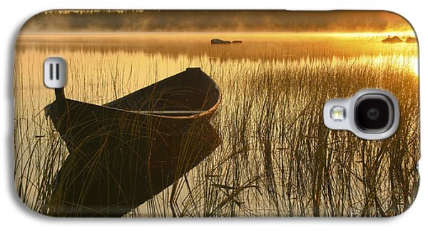 Wooden Boat Galaxy S4 Case
