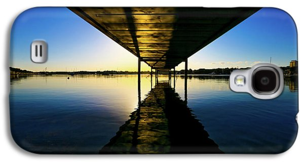 Wooden Pier At Sunset Galaxy S4 Case by Wladimir Bulgar