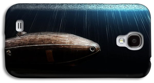 Wooden Submarine Ictineo II Dv Galaxy S4 Case by Weston Westmoreland