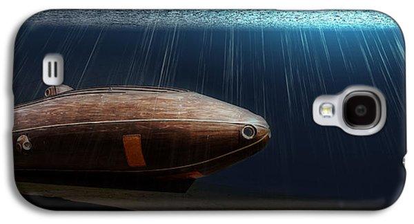 Wooden Submarine Ictineo II Lv Galaxy S4 Case by Weston Westmoreland