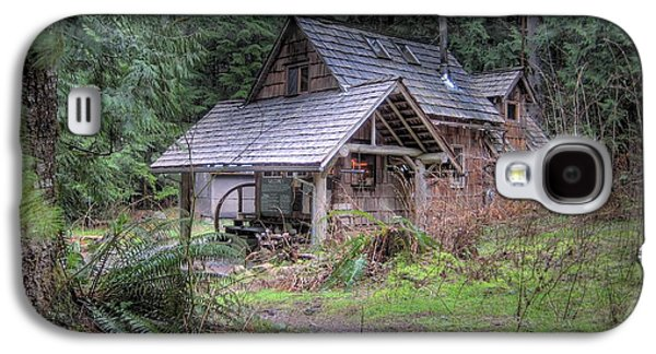 Rustic Cabin Galaxy S4 Case by Jane Linders