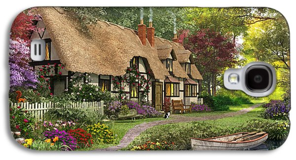 Woodland Walk Cottage Galaxy S4 Case by Dominic Davison