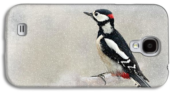 Woodpecker Galaxy S4 Case by Heike Hultsch