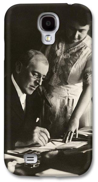 Woodrow And Edith Wilson Galaxy S4 Case