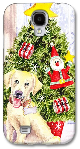Woof Merry Christmas Galaxy S4 Case