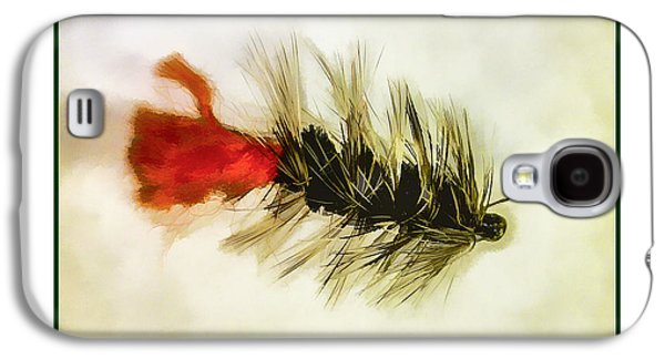 Fly Fishing - Woolly Bugger Galaxy S4 Case by Barry Jones