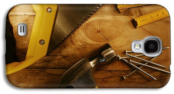 Work Tools Galaxy S4 Case by Les Cunliffe