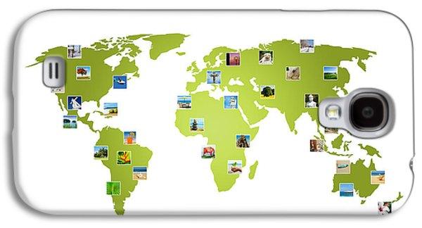 International Travel Galaxy S4 Case - Work Traveler by Aged Pixel