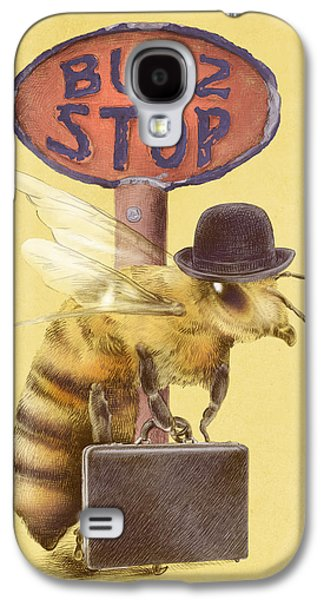 Worker Bee Yellow Option Galaxy S4 Case
