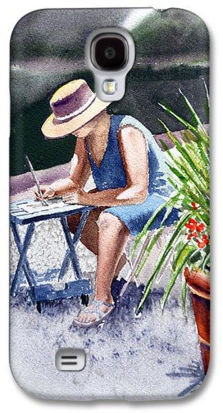 Working Artist Galaxy S4 Case by Irina Sztukowski