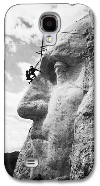 Working On Mt. Rushmore Galaxy S4 Case by Underwood Archives