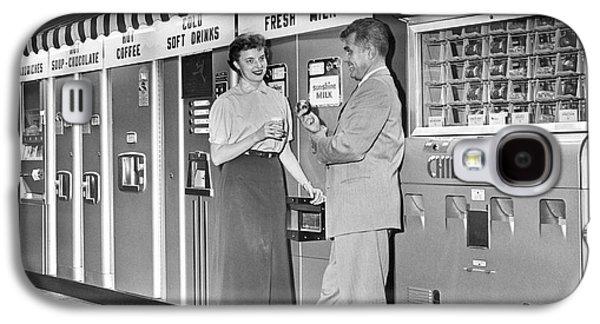 Workplace Snack Break Galaxy S4 Case by Underwood Archives